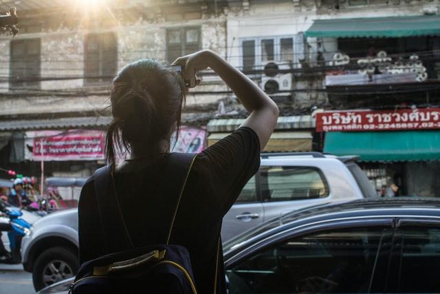 旅,タイ,バックパッカー,カメラ