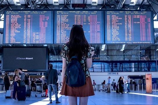 海外旅行,空港,フライト