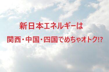 《WEBで解約無料》新日本エネルギーのメリット・デメリットとは